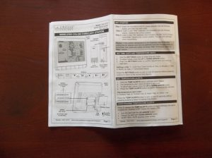 Instructions La Crosse 308-1412S Color LCD Wireless Weather Station