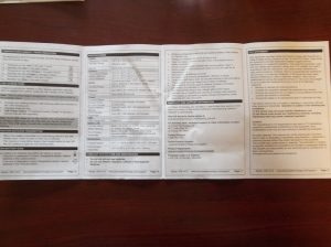 Then if you flip the instructions sheet over the other side is pages 5-8.