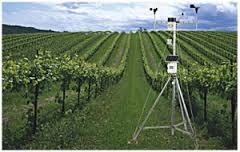Farming weather stations