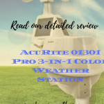 AcuRite 01301 Pro 3-in-1 Color Weather Station