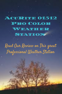 AcuRite 01512 Pro Color Weather Station