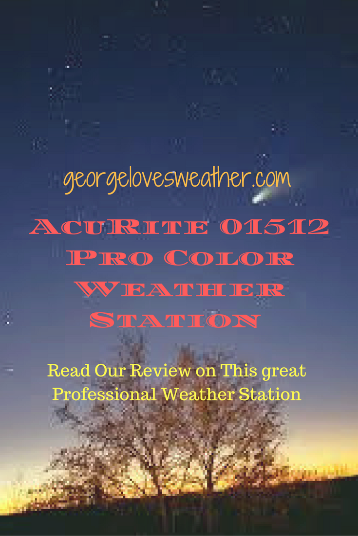 acurite 01512 pro color weather station george loves weather