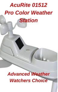 AcuRite 01512Pro Color Weather Station