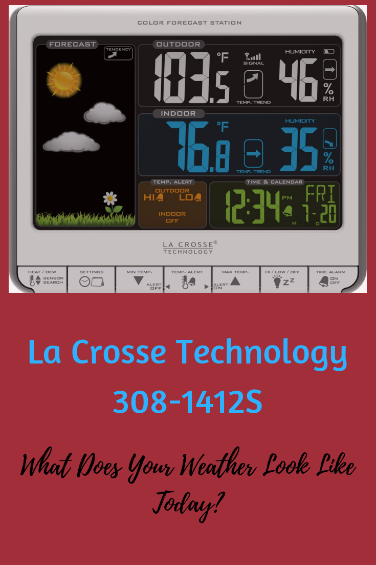 La Crosse Technology 308-1412S Color LCD Wireless Weather Station Review