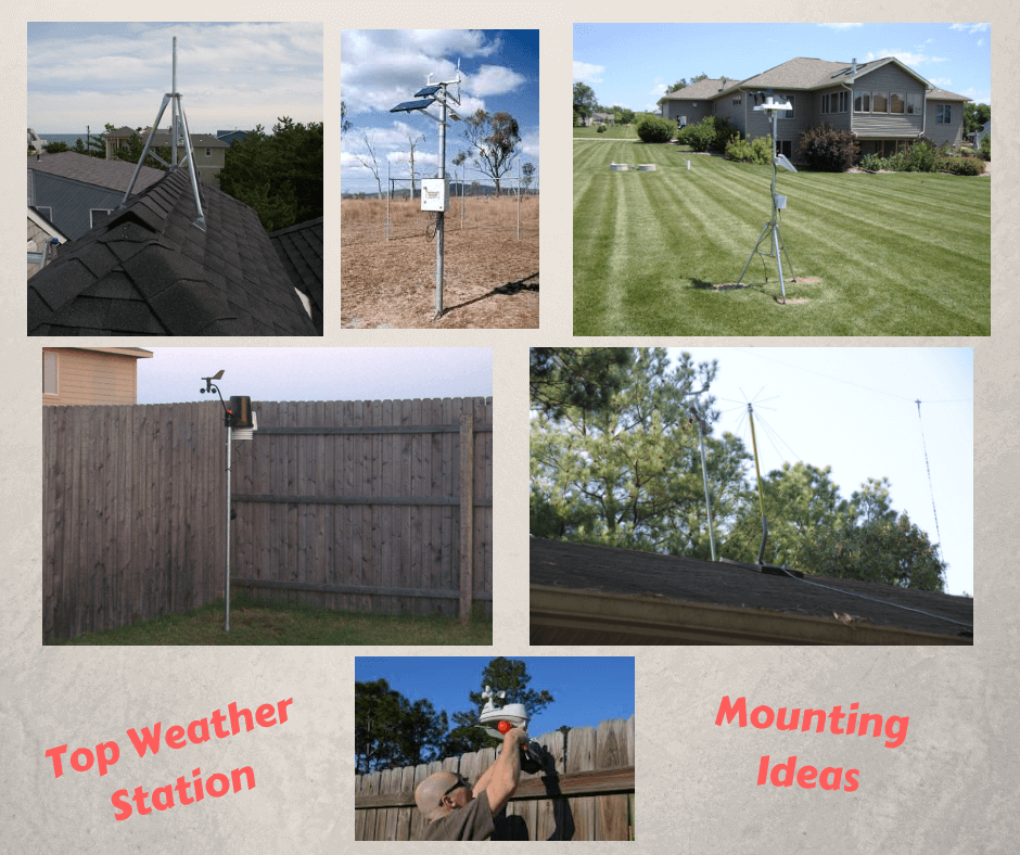 Top Weather Station Mounting Ideas