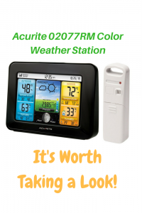 Acurite 02077RM Color Weather Station