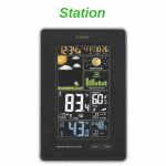 La Crosse 308-1425B-INT Wireless Color Forecast Station