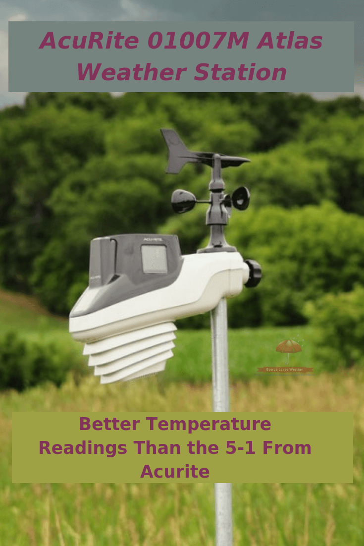 AcuRite 01007M Atlas Weather Station