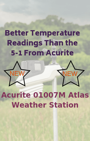 AcuRite 01007M Atlas Weather Station-New & Exciting