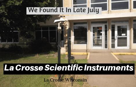 George Loves Weather Visits La Crosse Scientific Technologies-Manufacturer of Weather Instruments