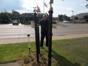 George Loves Weather Visits La Crosse Scientific Technologies