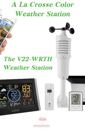 La Crosse Color Weather Station-Model V22-WRTH