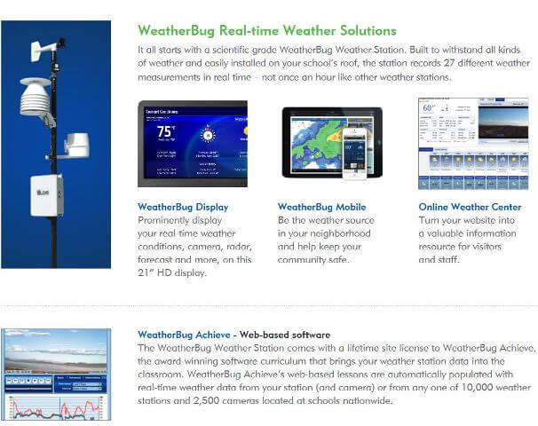 Weather Bug Set up For Schools Part 2