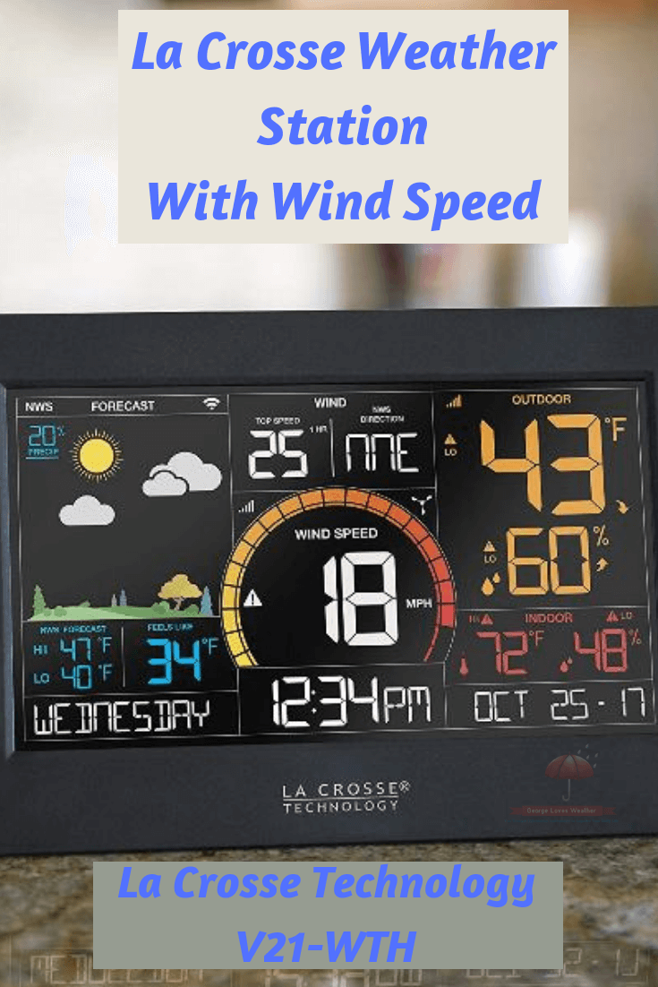 La Crosse Weather Station With Wind Speed