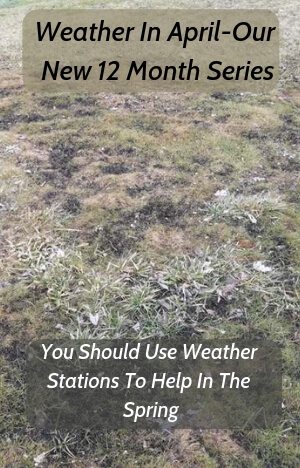 Weather In April-How to Better Use Weather Instruments