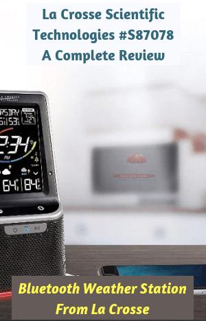 Bluetooth Weather Station From La Crosse Scientific Technologies #S87078