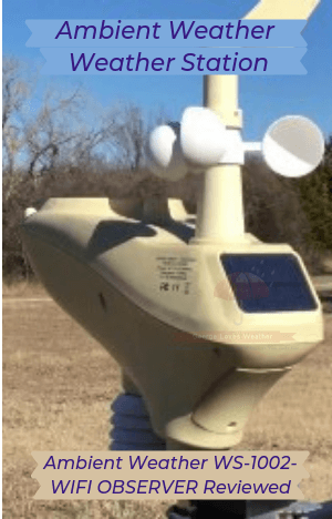 Ambient Weather Weather Station-Ambient Weather WS-1002 Observer Reviewed