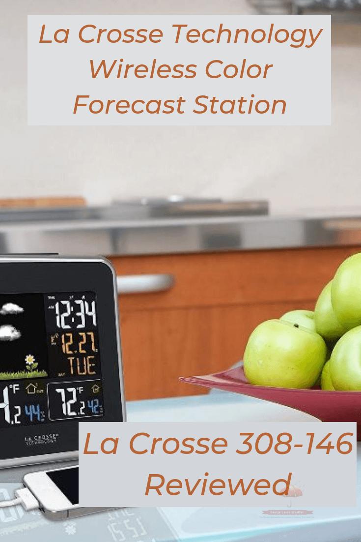 La Crosse Technology Wireless Color Forecast Station