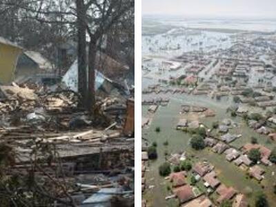Category Five Cyclone Damage
