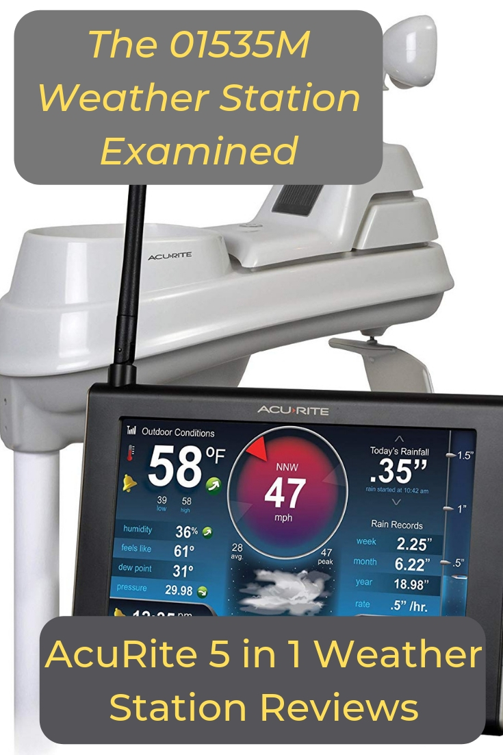 AcuRite 5 in 1 Weather Station Reviews