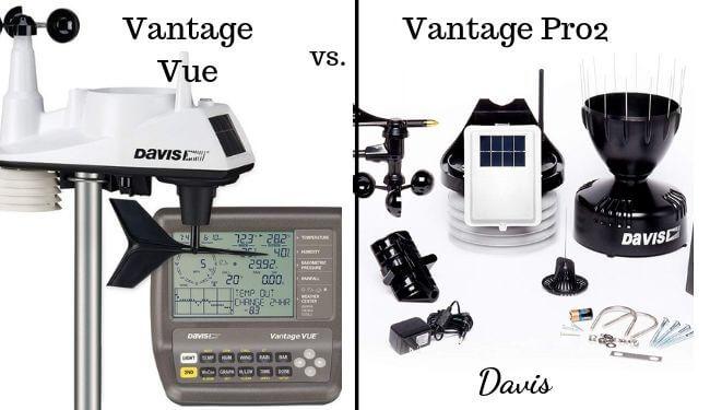 Vantage Vue vs Vantage Pro2