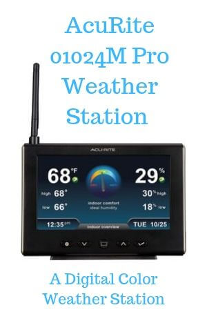 AcuRite 01024M Pro Weather Station-A Digital Color Weather Station
